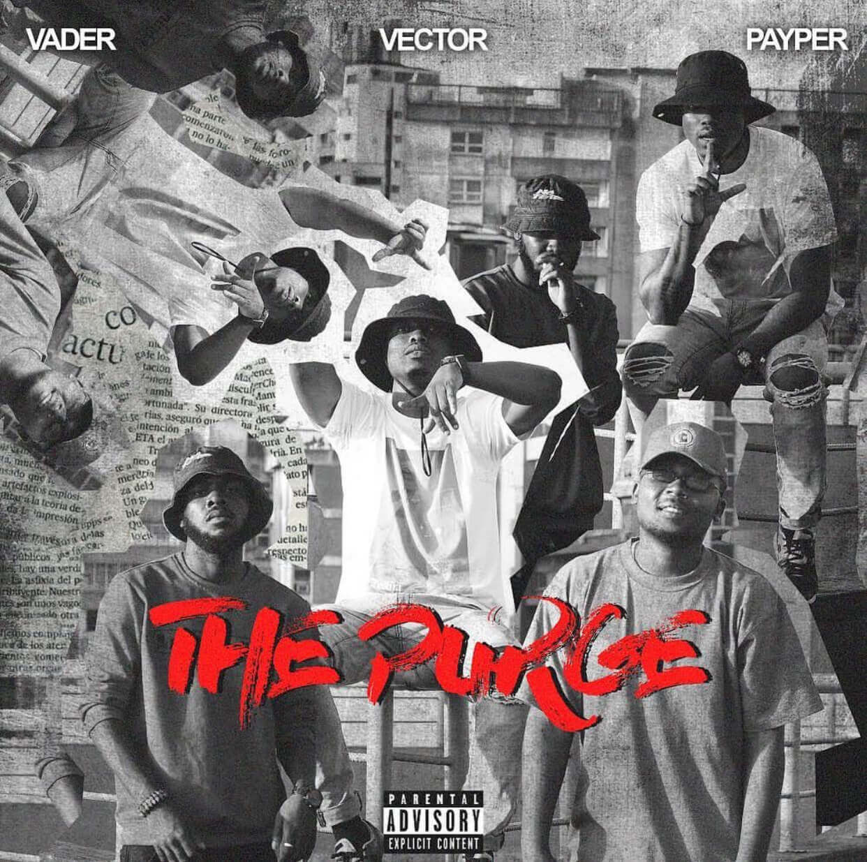 MP3 : The Purge by Vector feat Payper & Vader ( M.I. Diss)
