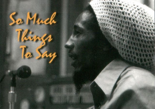 Bob Marley – So Much Things To Say (MP3)