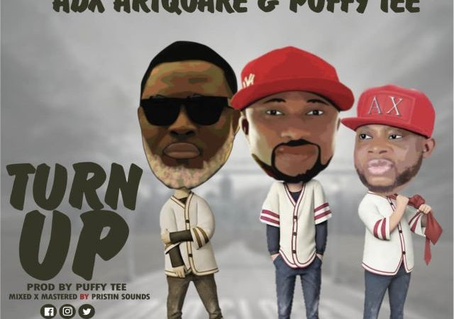 Jibola – Turn Up ft. ADX Artquake & Puffy Tee (MP3)