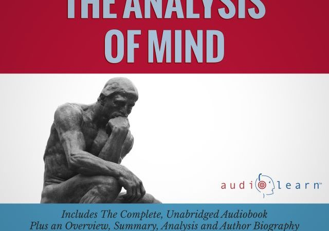 Bertrand Russell – The Analysis of Mind (Audio Book)