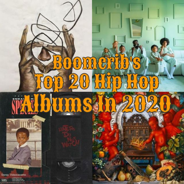 Boomcrib's Top 20 HipHop Albums in 2020