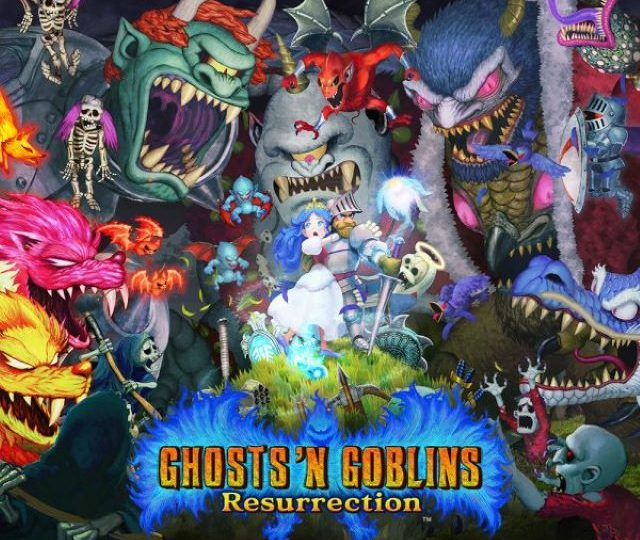 Ghosts 'n Goblins Resurrection (Video Game)