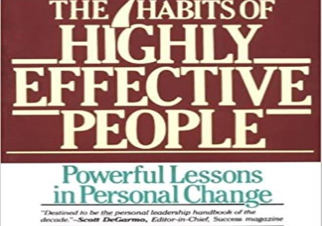 Stephen Covey – The 7 Habits of Highly Effective People (PDF)