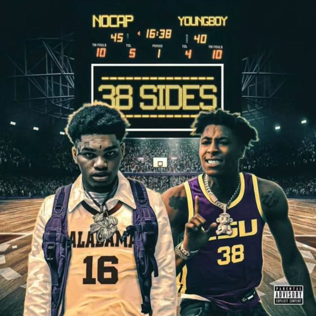 NoCap – 38Sides ft. YoungBoy Never Broke Again (MP3)