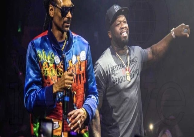 Snoop Dogg is starring in 50 Cent's 'Black Mafia Family'