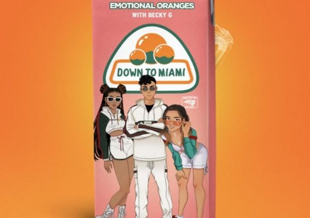 Emotional Oranges – Down To Miami ft. Becky G (MP3)