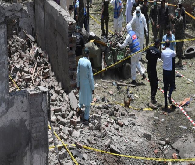 Deadly blast in Pakistan near residence of armed group founder