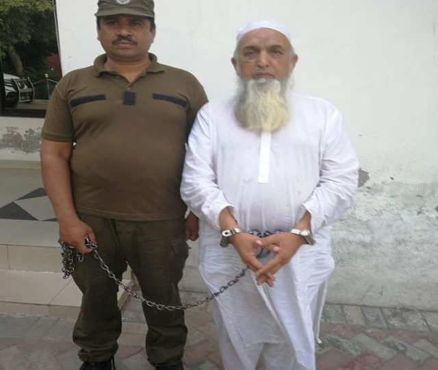Pakistani cleric who led anti-blasphemy rallies held for sexual abuse