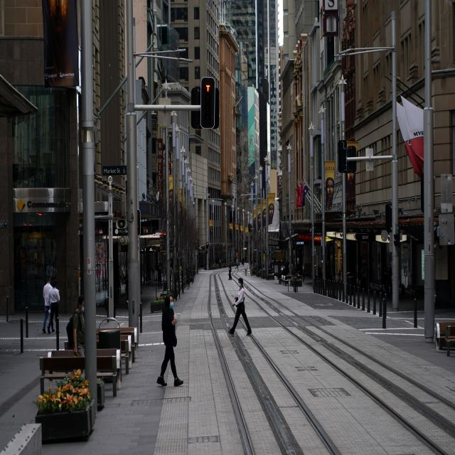 Australia's Sydney posts record daily rise in COVID-19 cases, seeks military help