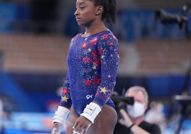 Simone Biles bows out of Olympic team gymnastics event