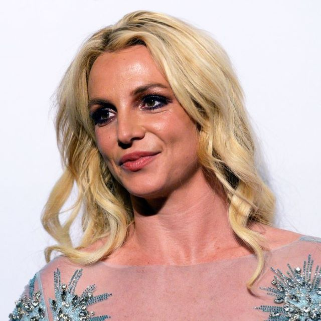 Britney Spears has posted a series of topless photos to dispel rumours that she's had a boob job or is pregnant.