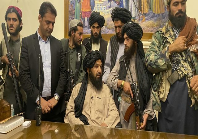 Taliban pledge peace and women's rights under Islam as they strike conciliatory tone