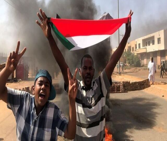 Gunfire, protests as Sudan's military seizes power in coup